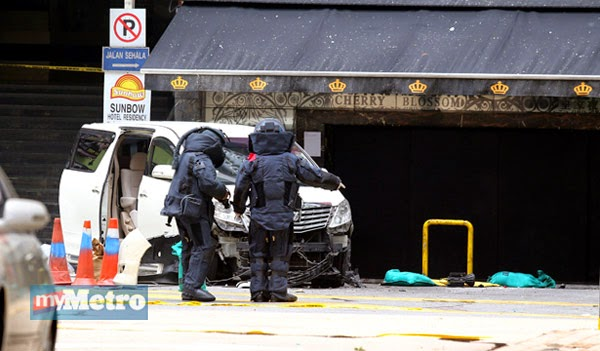 Gambar Video Bom Bukit Bintang Bukan Kerja IS Sebaliknya Dendam