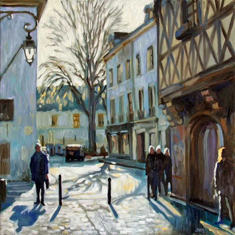 Jean matrot mars 2015 for Peinture isolante phonique dijon