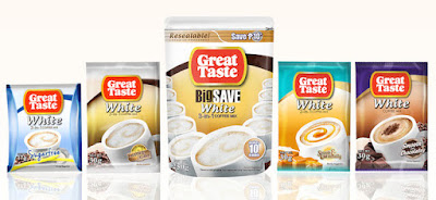 Great Taste White: Choose Great Win Great Promo