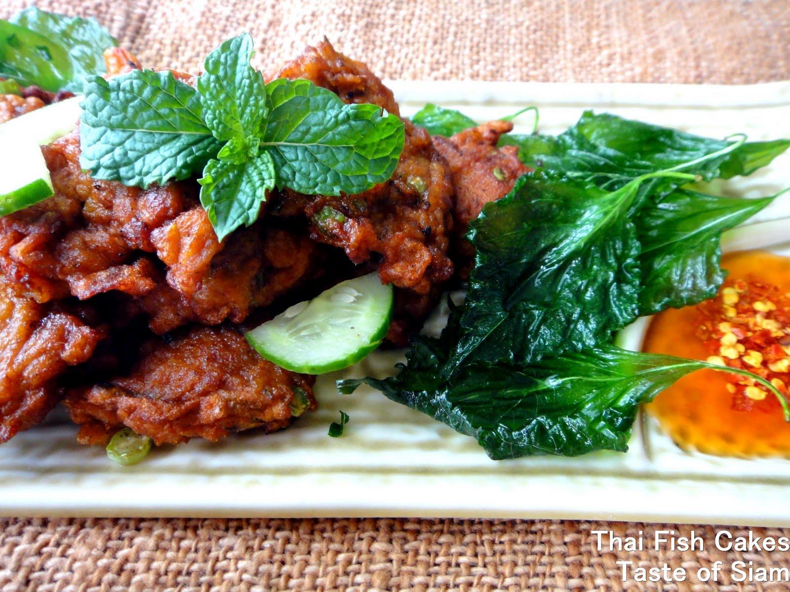 Taste of siam thai fish cakes for Thai fish cakes