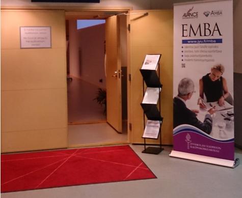 Avaa ovi Executive MBA-opintoihin - tule 14.2. klo 8.30-11.00 Crowne Plazaan Helsinkiin!