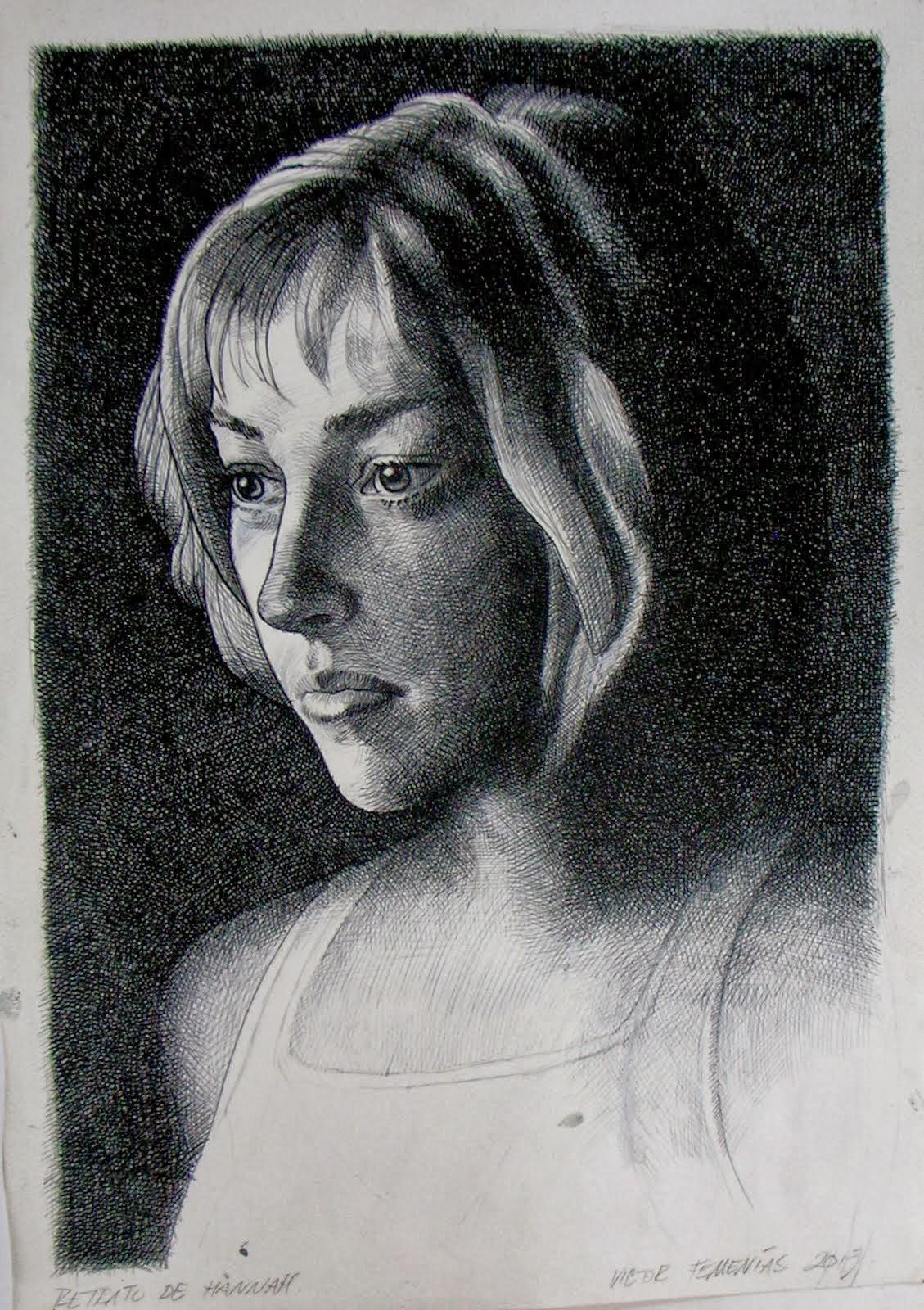 Retrato de Hannah