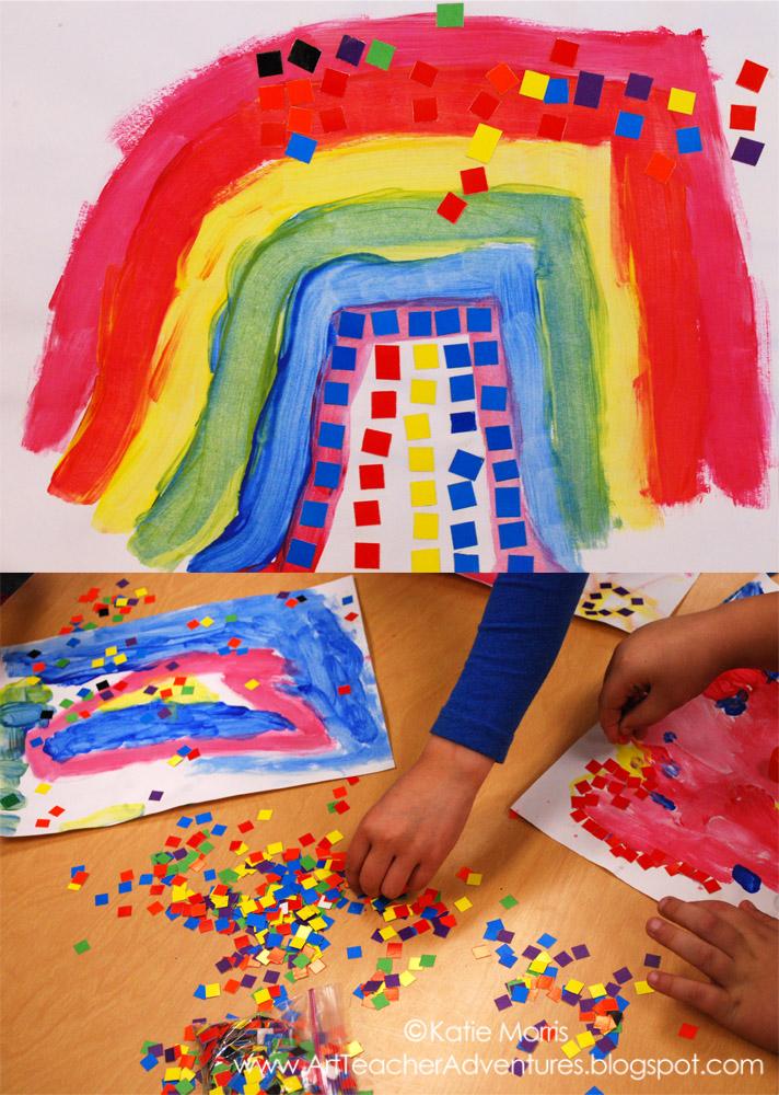 Kinder Primary Color Artwork