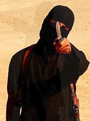 photo jihadi jhon dalam seragam isis