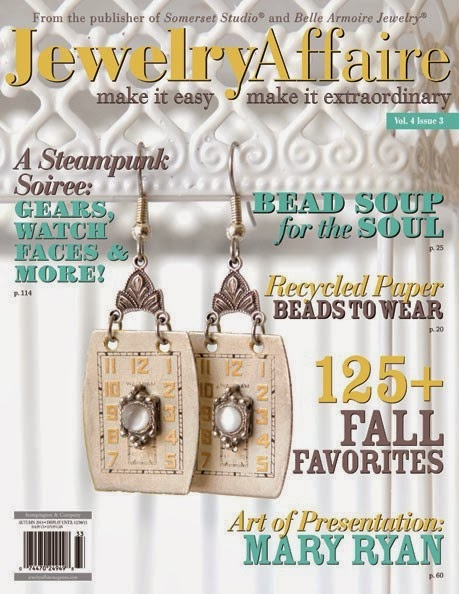 On the cover of Jewelry Affaire