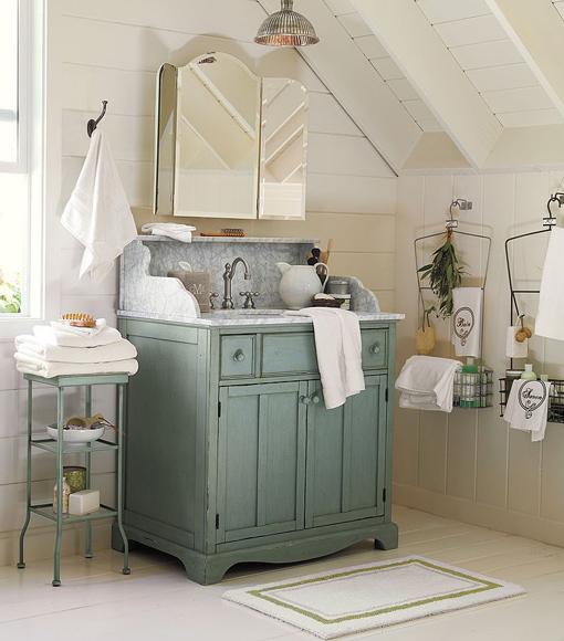 Decorando Baños: Decorando Y Renovando: Restaurando Muebles Para El Baño