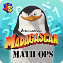 Madagascar Math Ops Free App iTunes App Icon Logo By Knowledge Adventure - FreeApps.ws