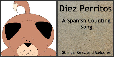 Finger Play Fun Day:  Diez Perritos photo