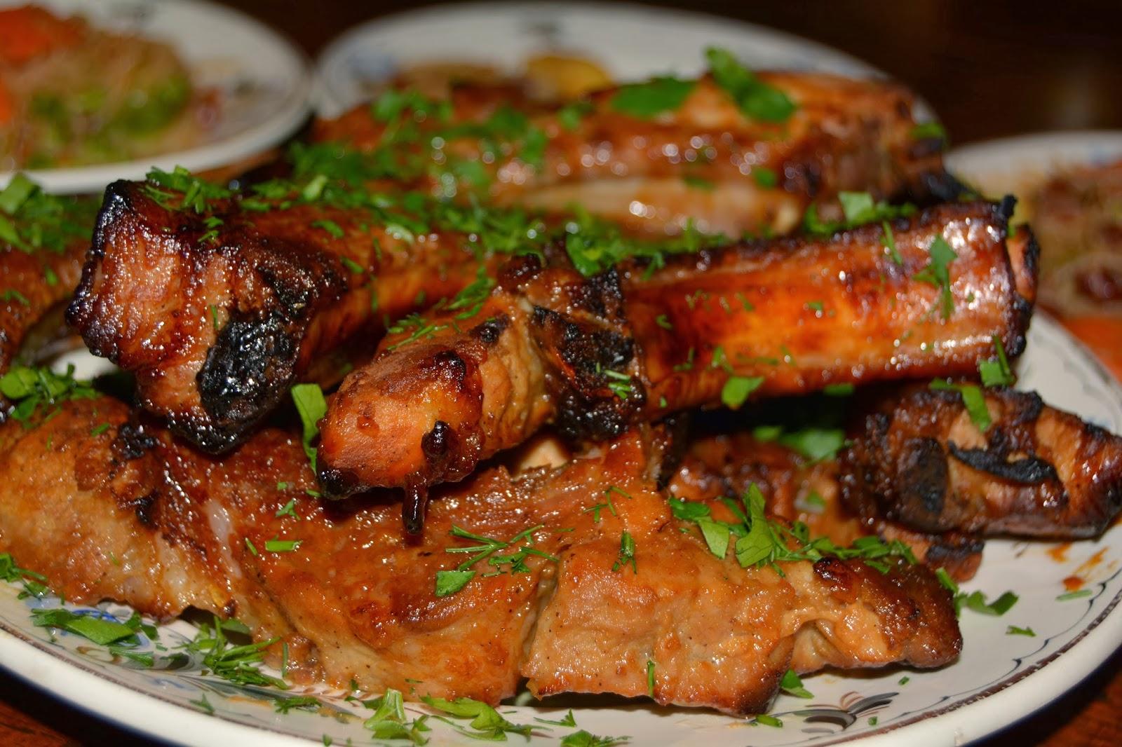 Ребрышки баранины в духовке в фольге рецепт