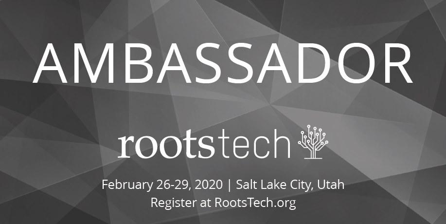 RootsTech2020 Ambassador
