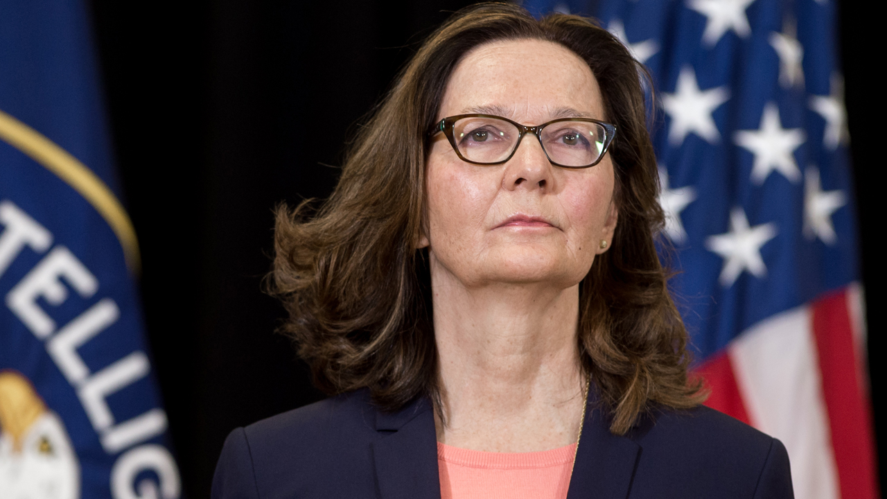 GINA HASPEL: SWORN IN AS CIA DIRECTOR.
