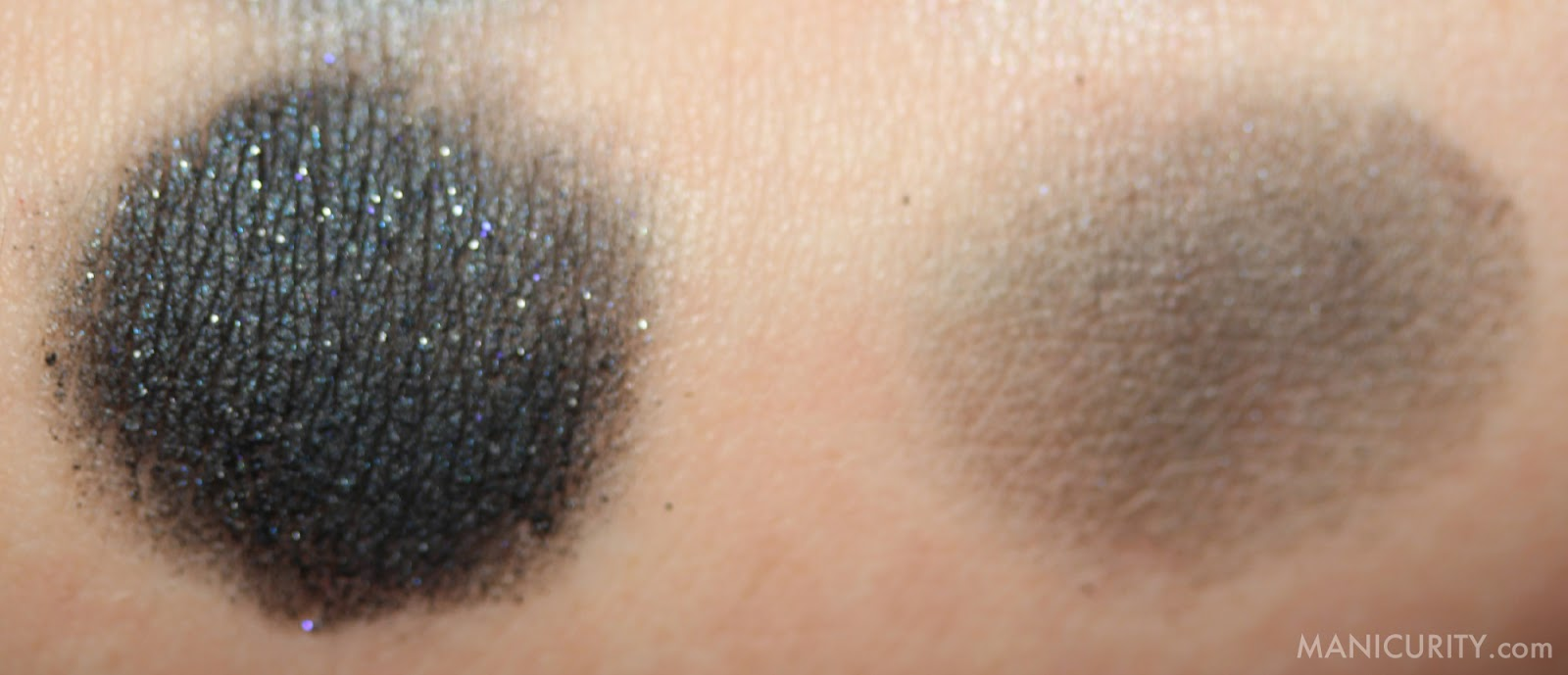 Manicurity - Ipsy Glam Bag December 2013 Hits & Misses | Pop Beauty Eyeshadow Palette Smokin' Hot swatches, review, eye look, glittery smokey eye