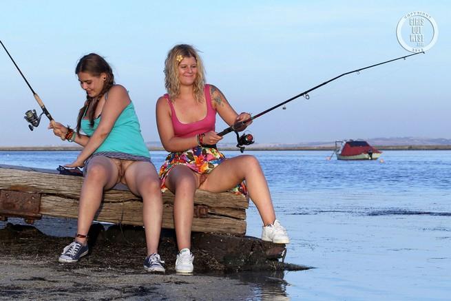 секс на рыбалке фото