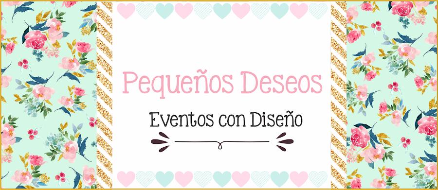 Pequeños Deseos Eventos con Diseño