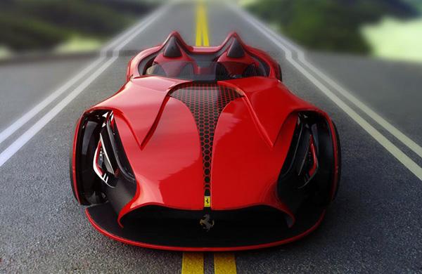 Ferrari Millenio Electric Concept