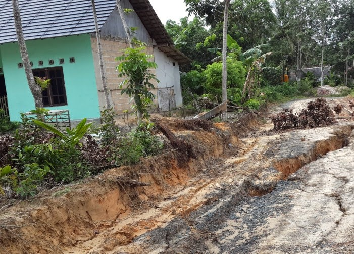 landslides due to rain