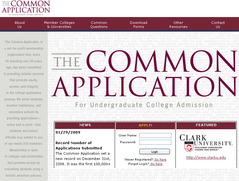 ... Common App Essay Examples, Common App College Essay Examples, Common