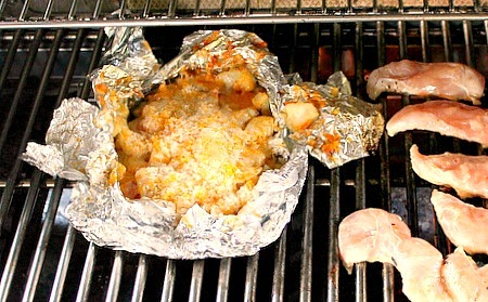 3 Cheese Potatoes In Foil For The Grill