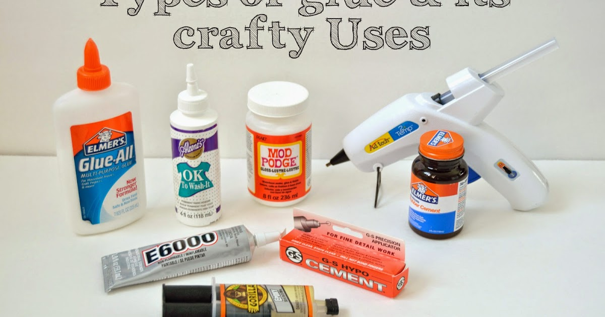 Vikalpah Let S Talk About Glue Types Of Glue And Its