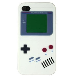 Nintendo Game Boy Gameboy Silicone Case For iPhone 4