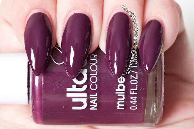 Ulta3 Mulberry nail polish swatch