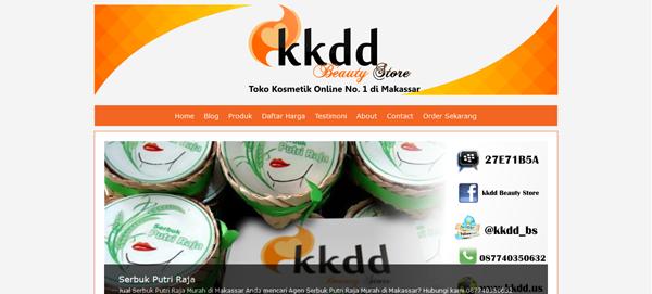 kkdd.us Toko Online Kosmetik Terpercaya