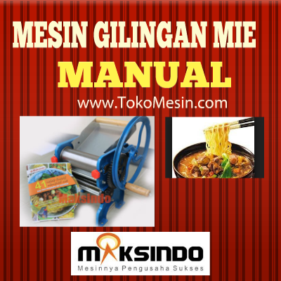 alat cetak mie manual