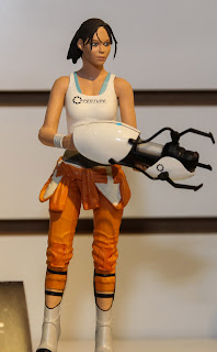 NECA 2013 Toy Fair Display Pictures - Portal figures