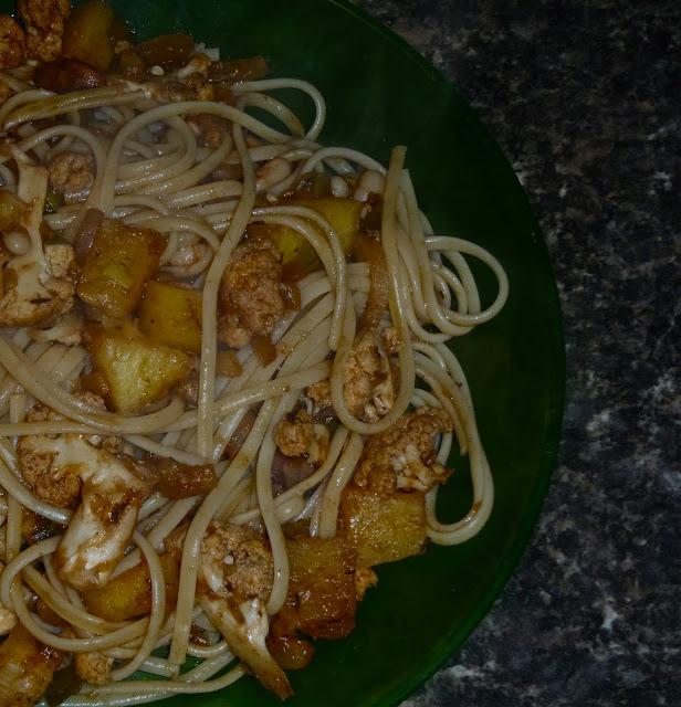 vegan jerk sauce, vegan jamaican jerk, jamaican jerk pasta, jamaican jerk linguini