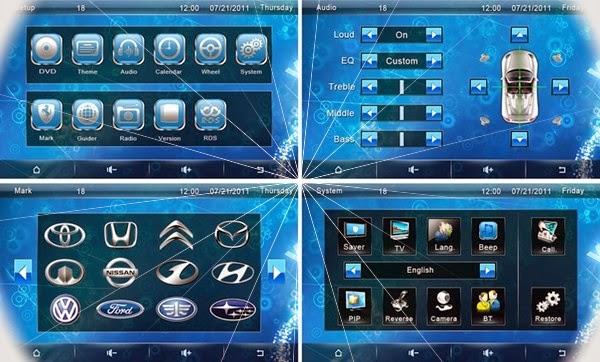 Option Di bangun kepada TV Digital :      DVB-T MPEG2/ISDB (45 USD)     DVB-T MPEG4 antena tunggal (55 USD)