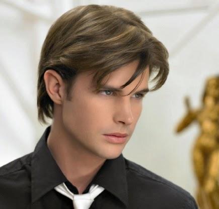 Moda cabellos peinados de hombres con flequillo 2015 - Moda peinados hombre ...