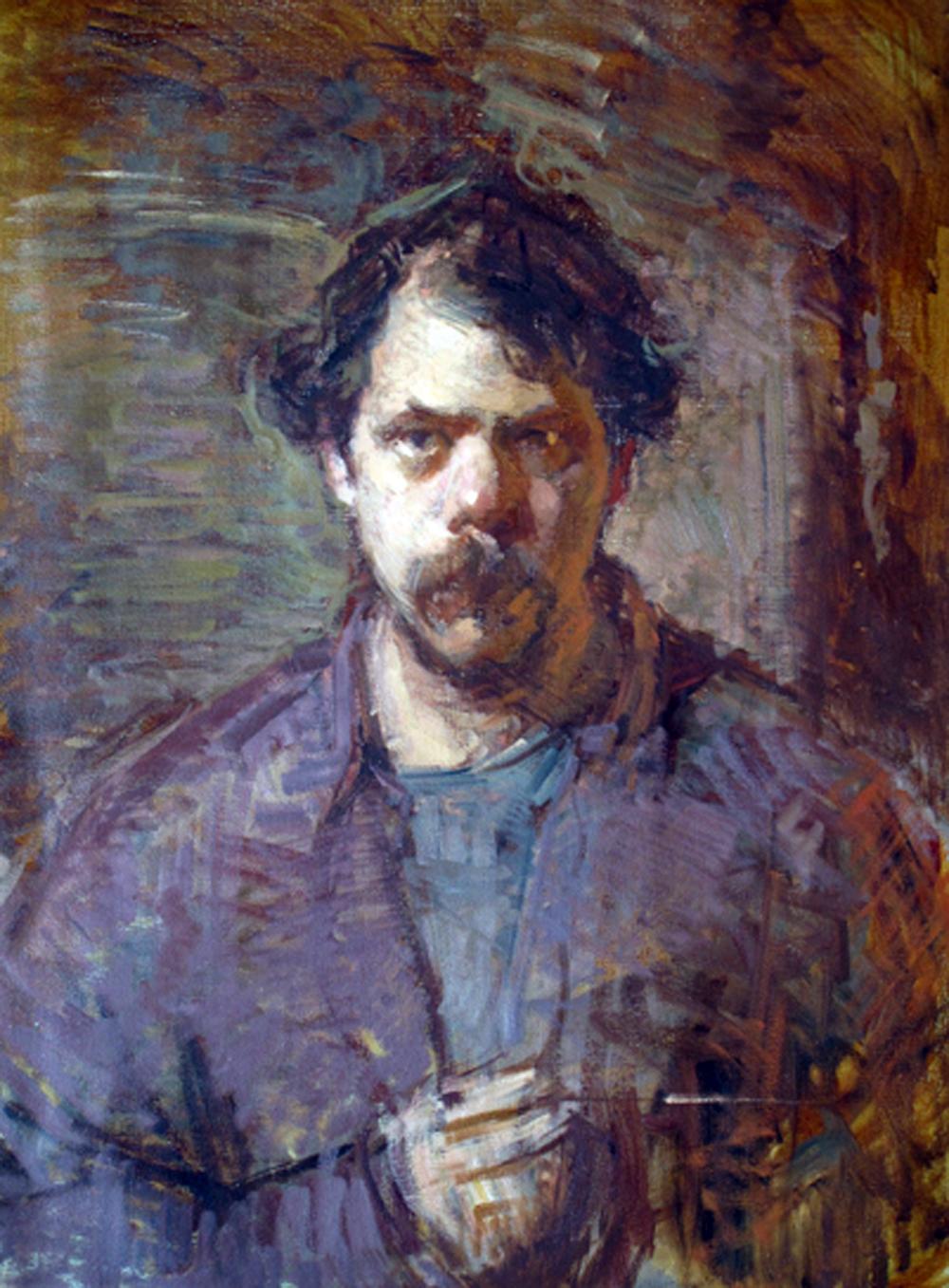Portraits Of Painters  Ben Fenske