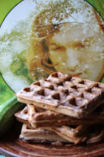 Courgette and Chocolate Waffles