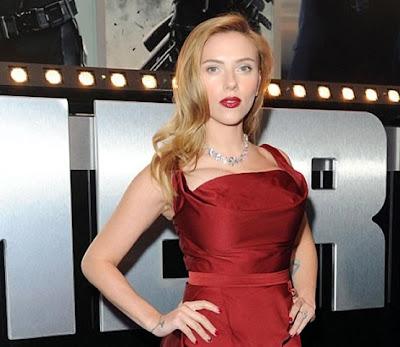 Scarlett Johansson one big boob funny
