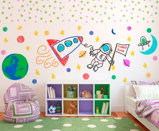 Pintura para volver las paredes un pizarr n la guarida geek - Pinturas para el hogar ...