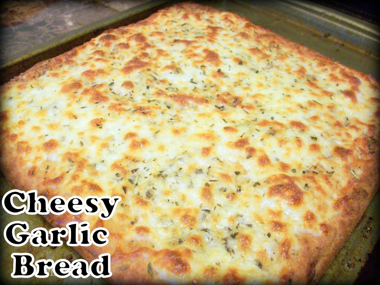 Cheesy Garlic Bread Recipe — Dishmaps