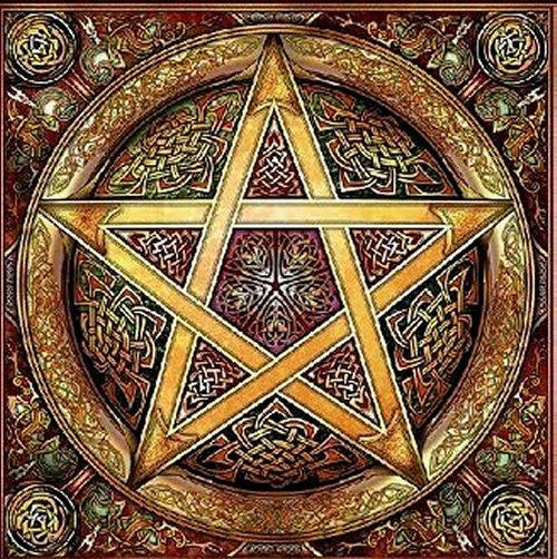 GnosticPentagram1 Ana Claudia Michels string