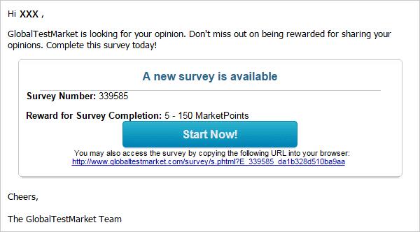 Survey tasks