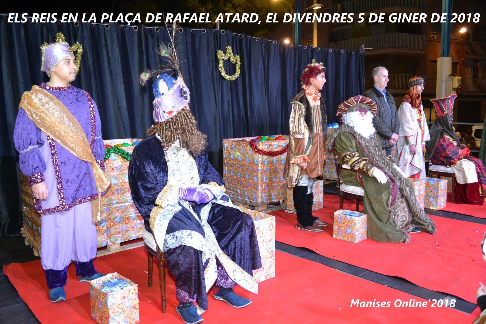 05.01.18 LOS REYES MAGOS DE ORIENTE VIENEN A MANISES