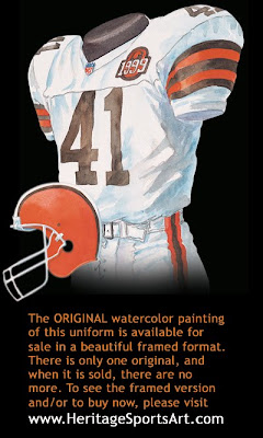 Cleveland Browns 1999 uniform