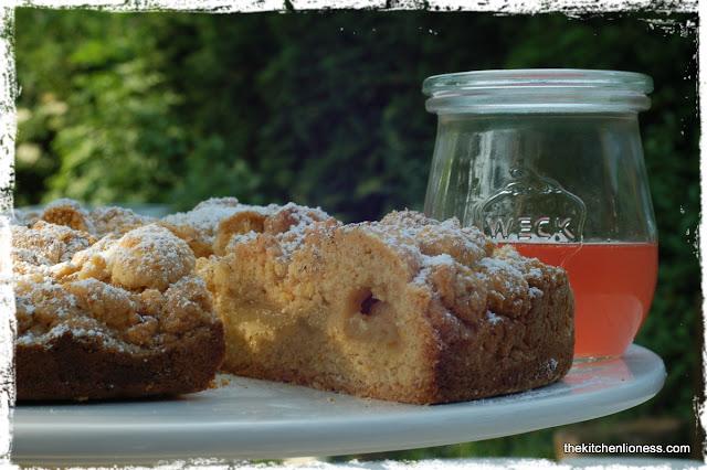 rhubarb cinnamon polenta cake as adapted from nigel slater s