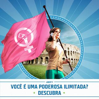 """Promoção """"Tim Liberty Poderosas Ilimitadas"""""""