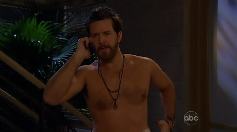 Ted King Shirtless on One Life To Live 20110314