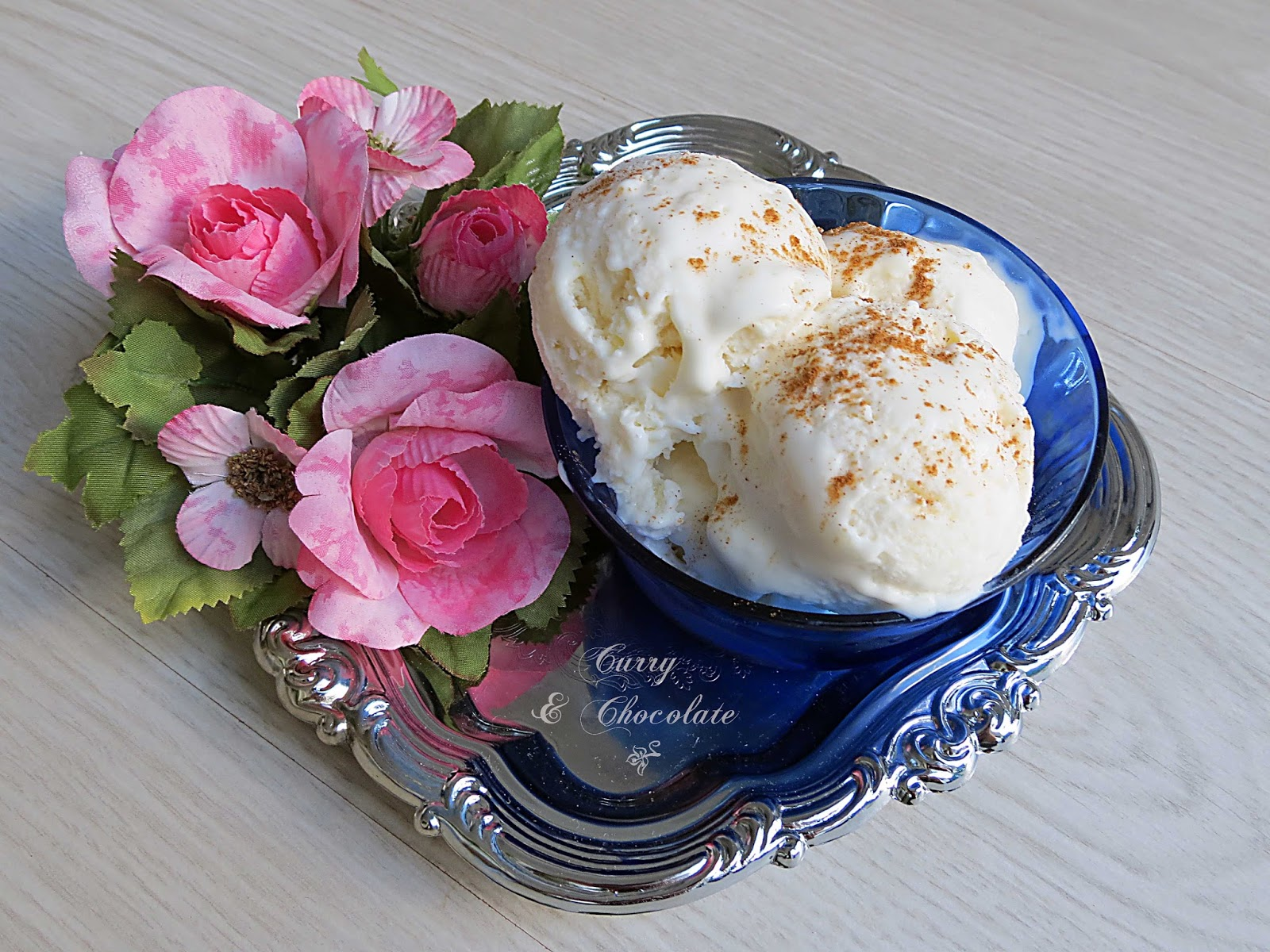 Helado casero de arroz con leche – Sweet rice pudding ice cream