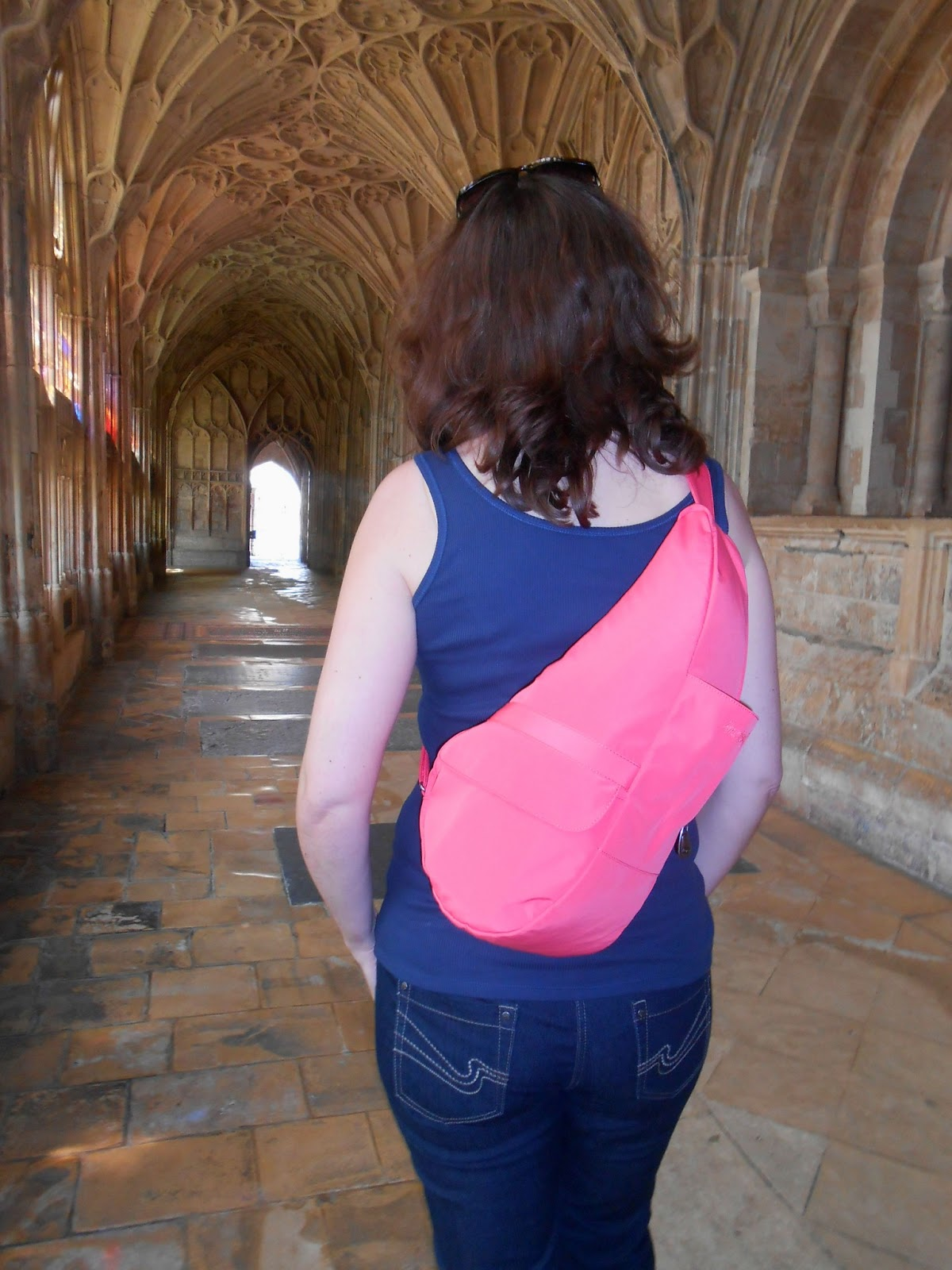 The Healthy Back Bag Company, Gloucester Cathedral, Kelly Martin Speaks