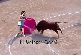 Matador Cavani