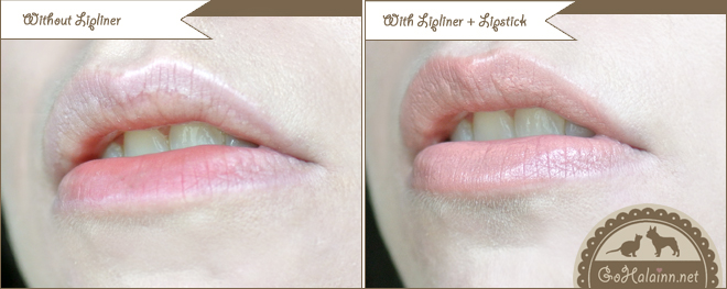 Etude House Soft Touch Auto Lipliner #3 Milky Brown Review