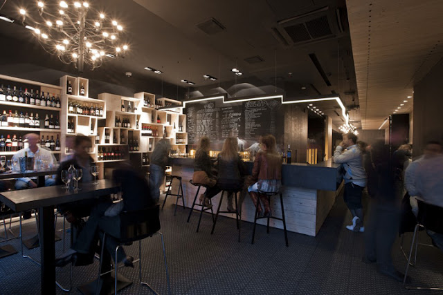 Divino Wine Bar by suto interior architects Budapest