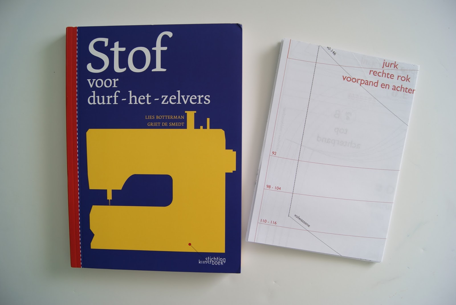 Belgian sewing book