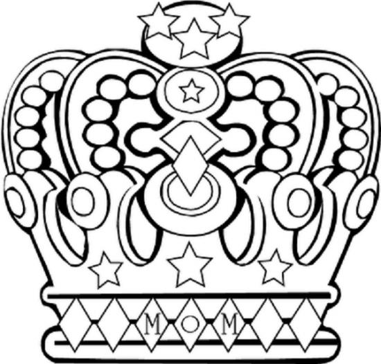 ESPAO EDUCAR Moldes De Coroas De Reis Rainhas E Princesas